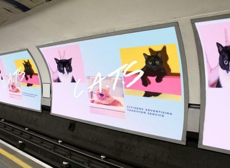 Un nuovo volto a una stazione della metropolitana di Londra