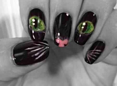 Le nail art più belle a tema gatto