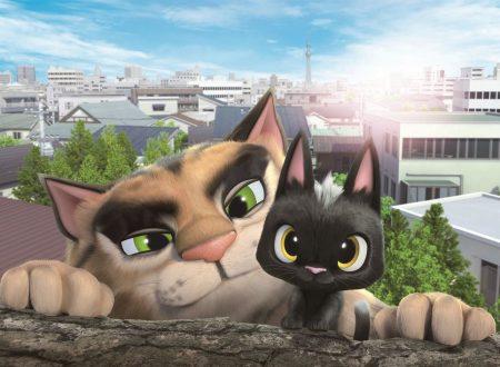 per il villaggio dei gatti, presentazione del film 'Rudolf alla Ricerca della Felicità'